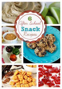 Easy After School Snack Recipes! www.skiptomylou.org #snacks #recipes #backtoschool