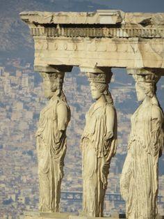 The Caryatides, Acropolis of Athens