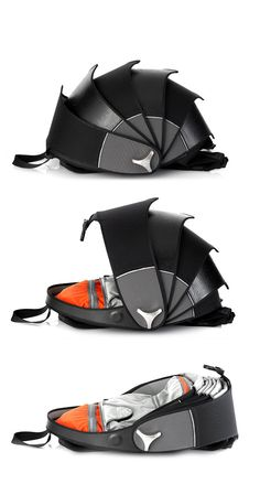 Cyclus Pangolin Backpack $295 This is very cool looking and an interesting concept