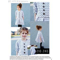 See Kate Sew ZigZag Dress Sewing Pattern