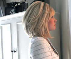 textured bob for thick hair