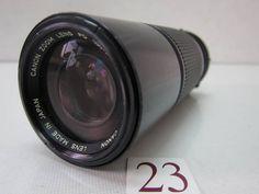 CANON FD 100-200mm F5.6