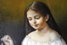 A fragment of Julia Bobrisheva's painting