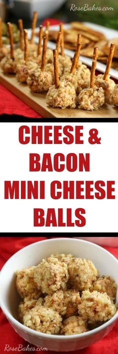 Cheese & Bacon Mini