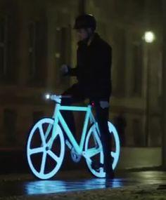 Neon bike -