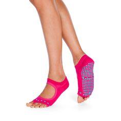 Magenta Cacti Grip Socks, Cacti, Barefoot, Magenta, Peep Toe, Heels, Shopping, Style, Fashion