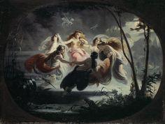 Titre de l'image : Robert Alexander Hillingford - The Fairy Dance