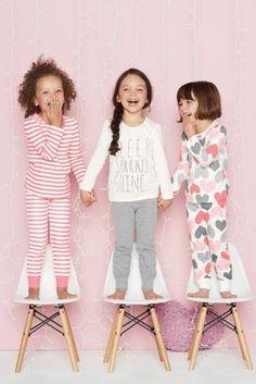 Three Pack Heart Snuggle Pyjamas (12mths-6yrs) from Next
