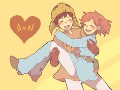 Asbel and Nausicaä. I loved how they fought for and protected each other in the film!