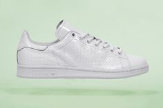 """Fresh off of a resurgent year last year, here adidas Originals continues to reinvigorate the Stan Smith legacy with a new version of the hallmark silhouette. The """"Perforated"""" pair is an entirely monoc..."""