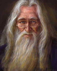 Albus Dumbledore by Tatyana Buyskaya [©2016]