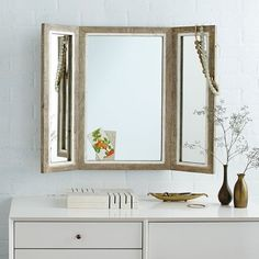 """Trifold Mirror 