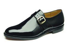 Modelo Paisley zapatos con hebilla en piel rectificada. Fabricación Goodyear. Plantillas de piel. Forma 3625. Calce F.