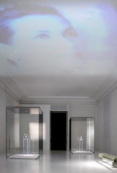 .Tokujin Yoshioka's: 'Moon Fragments' from The 'Story of... Memories of CARTIER Creations' Exhibition via designboom