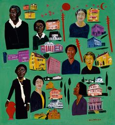 Women Builders by William H. Johnson