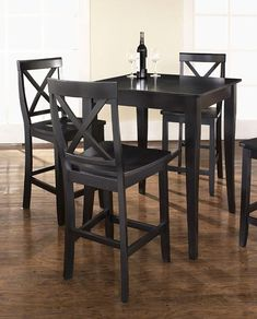 Add A Touch Of Style To Your Dining Room With The 5 Piece Pub Dining