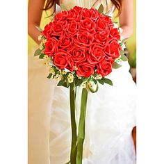 Round+Shape+Foam+Wedding/Special+Occasion+Bouquet(More+Colors)+-+USD+$+29.99