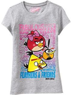 Girls Angry Birds Space™ Tees