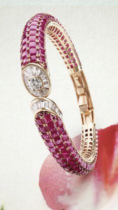 Bracelets – Page 6 – Modern Jewelry Ruby Jewelry, Gems Jewelry, Jewelry Art, Fashion Jewelry, Diamond Bracelets, Gold Bangles, Bangle Bracelets, Ruby Bangles, Modern Jewelry