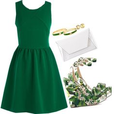 """""""St. Paddy's start"""" by chargergirl on Polyvore"""