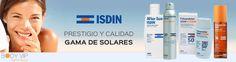 Novedad en BodyVip! Ya puedes disfrutar de los productos de ISDIN http://www.body-vip.com/1726_isdin