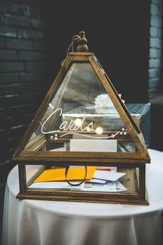 CARDS ! - Industrial Romantic Philadelphia Wedding by BG Productions - via ruffled