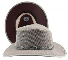 ab186381 Head 'N Home Handmade Hats - SolAir Brand Cabana Bark Breathable Mesh Sun  Hat - Size Medium at Amazon Men's Clothing store: Other Products