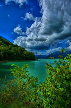 Santa Croce Lake HDR by ~Pantuz on deviantART