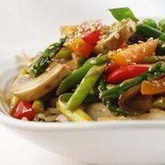 Stir Fried Sesame Vegetables with Rice - Allrecipes.com