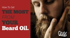 Learn when and how to apply beard oil and the key ingredients you need for your beard. Cliff Original - all natural men's grooming