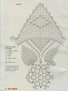"Photo from album ""Moje robotki on Yandex. Filet Crochet, Crochet Doilies, Knit Crochet, Doily Patterns, Crochet Patterns, Bruges Lace, Baby Lovey, Crochet Stars, Point Lace"