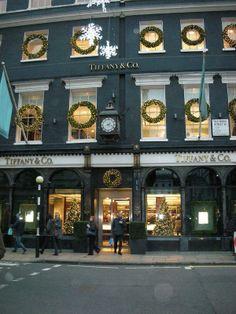 Tiffany in Bond Street, London...
