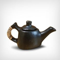classic british style tea pot from Manipur, India.