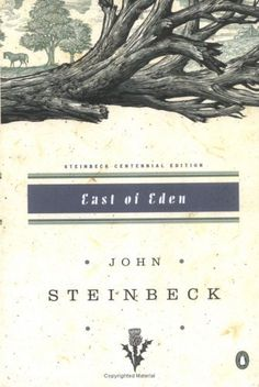 """Steinbeck's """"East of Eden."""" This book helped me understand the concept of grace in an entirely new way. I closed the cover, grateful."""