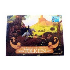 """The Brothers Hildebrandt Their Tolkien Art : 12 Full Color Magnetic Postcards to Send or Save  by Brothers Hildebrandt / J. R. R. Tolkien  Art dates from 1975-1977 $7  ship Instagram exclusive.  US shipments ship free with a purchase of 3 or more.  To purchase comment with email & US mailing zip. Additional items comment """"ADD"""" Best wishes.  #firsteditionbooks #Booknerd #bookworm #Books #booklover #ilovereading #Ilovebooks #bookporn #bibliophile #Bookaholic #goodreads #bookaddict #instabook…"""