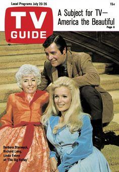 The Big Valley - Barbara Stanwyck, Richard Long, and Linda Evans