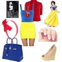 Modern Snow White,   created by bumblebri16 on Polyvore