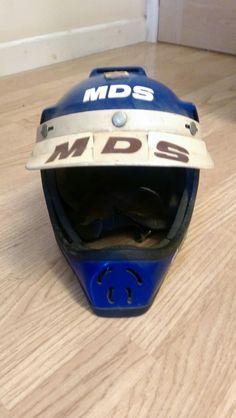 Vintage retro mds bmx helmet • £23.78 - PicClick UK