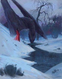 Mythical Creatures Art, Magical Creatures, Arte Game Of Thrones, Fantasy Kunst, Dragon Artwork, Dragon Drawings, Drawings Of Dragons, Dragon Girl, Dragon Rider
