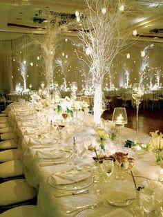 Wedding Decor....so beautiful incredible lighting