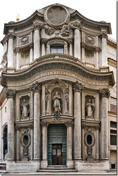 Múltiplos Estilos: Arquitetura Dinâmica: Borromini
