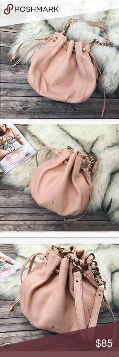 💗Beautiful Kate Spade peach color leather purse💗 Because Kate Spade peach color leather purse, condition is like new 💗 kate spade Bags
