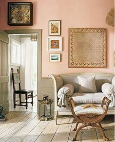 pink - gustavian