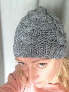 Bonnet en laine Gris Clair : Chapeau, bonnet par le-monde-de-sophie