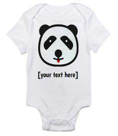 Cute Panda Onesie by Baby Swag