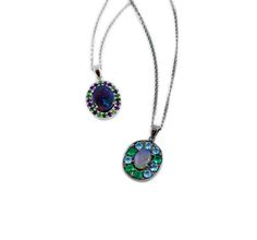 New pendant necklaces from the opal collection from Sarah Hughes Fine Gems and Jewelry