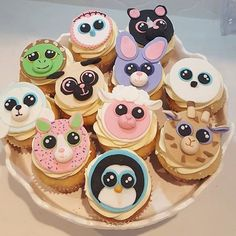 How delicious do these Beanie Boo cupcakes by @shannonzambocakes look?…