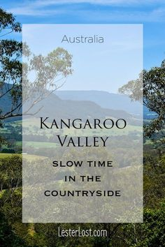 Kangaroo Valley is a hidden gem in New South Wales, Australia. Take a day trip 2 hours from Sydney and discover a lush and green valley. via @Delphine LesterLost
