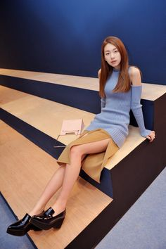 Kim Jin Kyung by Choi Seungjeom at Low Classic FW 2014