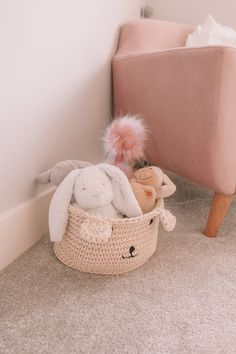 A Scandi Inspired Nursery (Newborn - 11 Months) - Petite Side of Style Nursery Room, Girl Nursery, Cot Canopy, Pink Velvet, Bassinet, Interiors, Inspired, Baby, Style